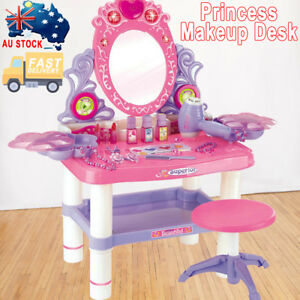 Exceptionnel Image Is Loading Kids Dressing Table Pretend Play Toy Set Girls
