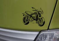 SpeedTriple1050 Grafik, Auto-Motorrad-Aufkleber, Speed Triple 1050