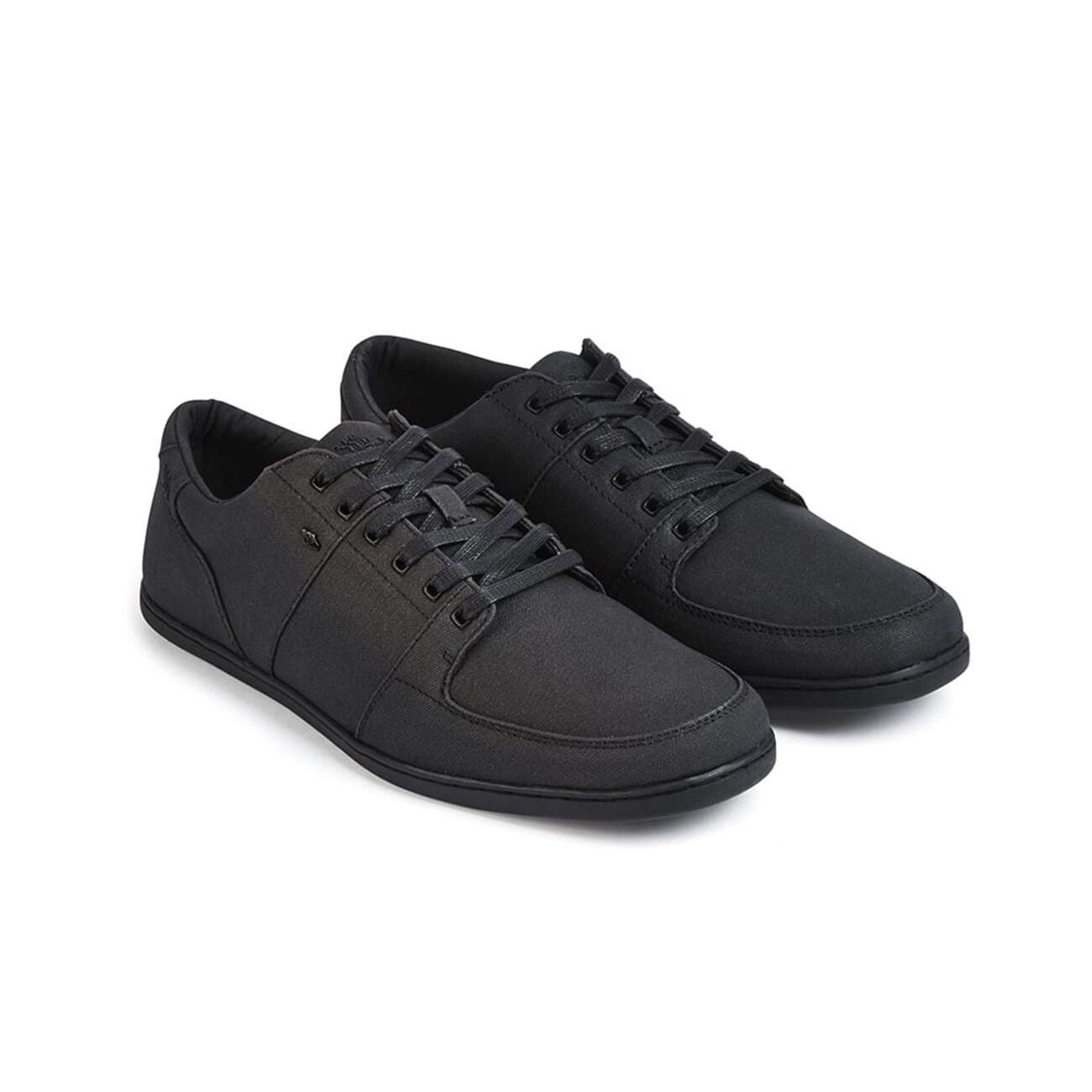 Boxfresh Herren Sneaker SPENCER ICN BLK/BLK WXD CNVS - BLK/BLK ICN 3d0bdf