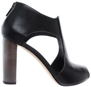 77fbca8105 Image is loading MICHAEL-KORS-Paloma-Open-Toe-Leather-40R9PAHS1L-Black-