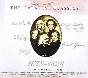 Signature-Classics-034-THE-GREATEST-CLASSICS-1678-1828-034-5CD-Box-NEU-amp-OVP-ZYX-2008