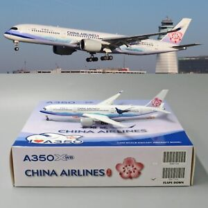 SALE-China-Airlines-A350-900-FLAP-DOWN-B-18901-JC-Wings-1-400-Diecast-model