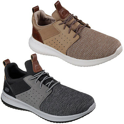 Skechers Delson Camben Sport Léger Tricot Maille Chaussures Hommes 65474 | eBay