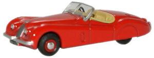 Oxford-76XK120003-Jaguar-XKJ120-Roadster-rojo-escala-1-76-Nuevo-en-Caja-T48