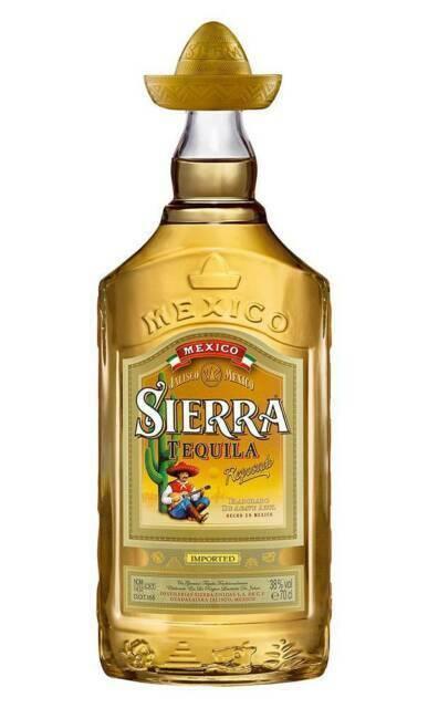 Sierra tequila reposado - 700 ml 4-SQ-005-38