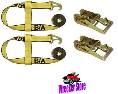 2-JerrDan MPL//Element Basket Straps /& Ratchets Quick Pick Self Loader Wrecker