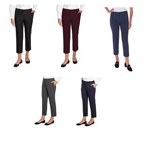 NEW-Mario-Serrani-Women-039-s-Comfort-Stretch-Slim-Fit-Pants-w-Tummy-Control