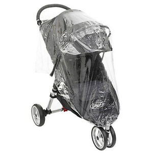 Brand New Baby Jogger City Mini Single Stroller Rain Cover