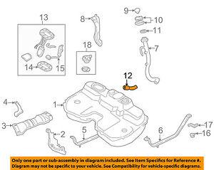 subaru oem 98 01 impreza 2 2l h4 fuel system connector hose rh ebay com Subaru 1.6L Engine 1986 Subaru 1.8 Engine