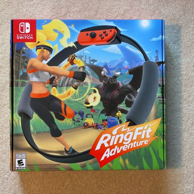 BRAND NEW Ring Fit Adventure (Nintendo Switch), Free and FAST Shipping
