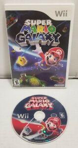 Super-Mario-Galaxy-Nintendo-Wii-Original-Case-Tested-WORKS-FREE-SHIPPING