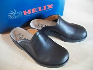 Uomo Zoccoli Black Helix Gr Mules 43 Germany Made In HPUBwHq
