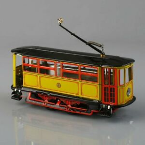 1-pc-New-Wind-Up-Tram-Trolley-Streetcar-Metal-Tin-Toy-Adult-Collectible-Gift