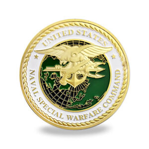 US-Military-Special-Forces-Navy-SEALs-Team-Trident-Badge-USN-Challenge-Coin