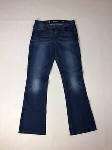 Details about LEVI'S Demi Curve Bootcut Jeans W29 L32 Navy Great Condition Women's