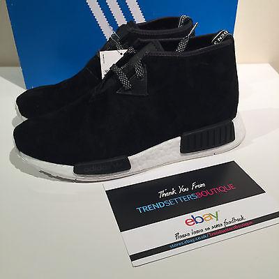 adidas nmd staffetta c1 - chukka nero taglia uk 6 edizione limitata