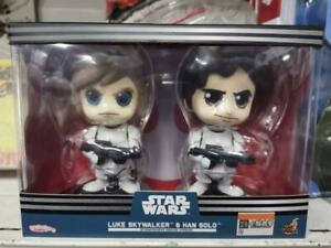 Star-Wars-Cosbaby-S-Luke-Skywalker-amp-Han-Solo-Bobble-Head-Collectible-Set