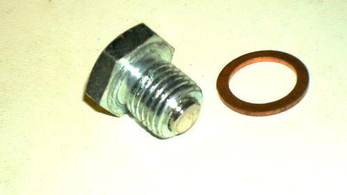 Oelablaßschraube m Magnet u.a SIMSON S51 M14x1,5