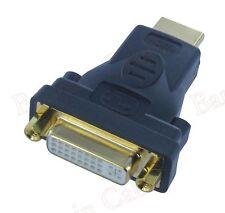 DVI-I Female(24+5 pin) to HDMI Male(19-pin) Monitor HDTV Adapter (ADVII2-HM1G)