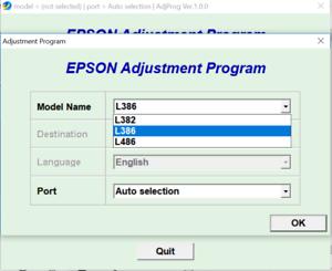 epson adjustment program l382 gratuit