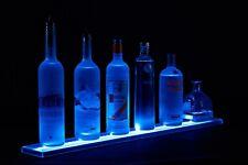 Used 2ft Bar Shelf With Led Lighting Bottle Shelves Displays Liquor Shelves