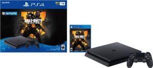 PlayStation 4 Slim 1TB Call of Duty: Black Ops 4 Console Bundle
