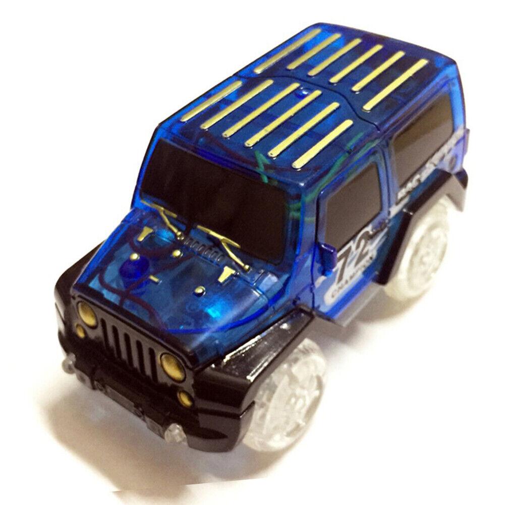 LED light up Cars for Magic-Tracks Kids Toys car for Children Race Car Toy New