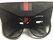 GUCCI WOMEN SUNGLASSES BLACK GG 3157/S  61-14-135 GRADIENT LENS NEW(Authentic)