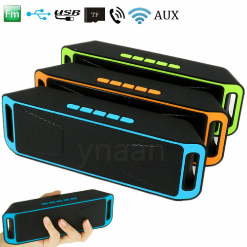 Wireless-Boombox Stereo Bluetooth Speaker Portable For iPhone Samsung Tab QTW