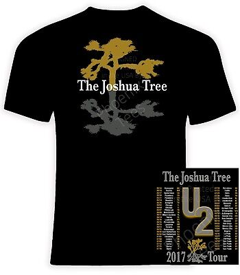 U2 THE JOSHUA TREE 2017 Tour T Shirt | eBay