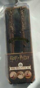 Harry-Potter-Wand-Pen-amp-Pencil-Set-Wizard-World-Stationary-Gift-Set-Primark