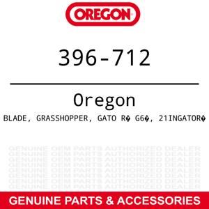 "Oregon 396-712 Gator G6 Blades Woods Bush Hog Grasshopper 223 225 61/"" 9-PACK"