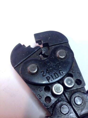 aircraft-quality surplus in good condition AMP 46223 24-22 PIDG Crimp Tool