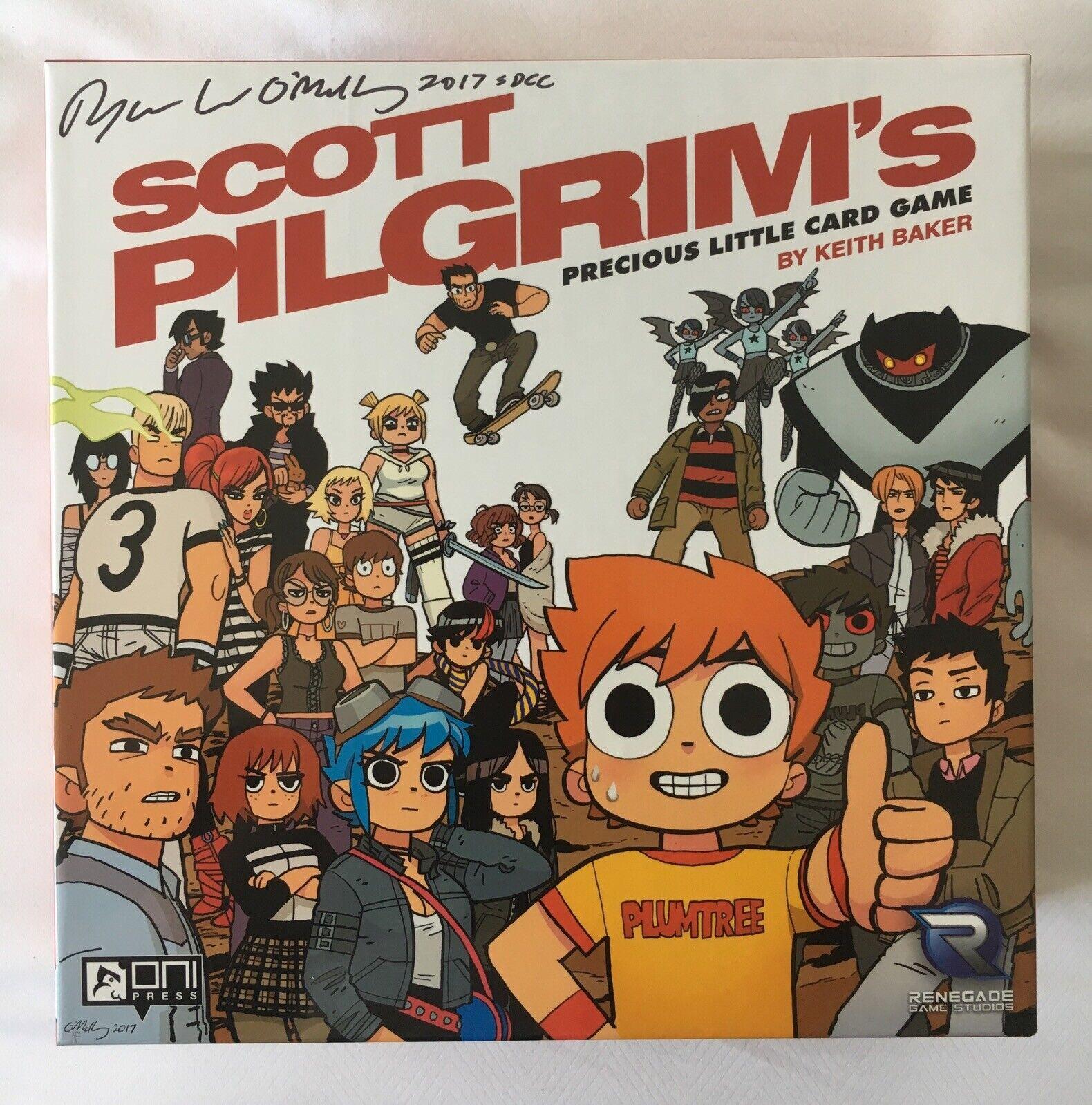 Scott Pilgrim's Precious Little Little Little Card Game - BNIB SIGNED exclusive b78bab