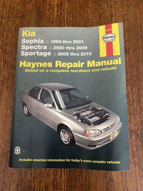 Kia Sephia  Kia Spectra  Kia Sportage Repair Manual  1994