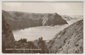 Jersey postcard - jersey: Coast from the Devils Hole (A93)