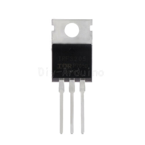 5Stks 55V 110A IRF3205 TO-220 IRF 3205 Power MOSFET NEU