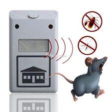 Ultrasonic electronic multi function dog cat bird rodent pest repeller deterrent