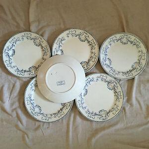 Candide 6 Assiettes Plates Sarreguemines Decor Mozart Service Durable