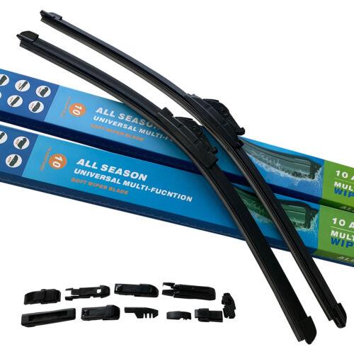 2x SCHEIBENWISCHER FLAT VORNE 650//375mm für Hyundai ix20 ab BJ 10//2010