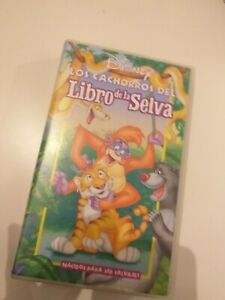 VHS-EL-LIBRO-DE-LA-SELVA-los-cachorros-DISNEY-coleccionistas