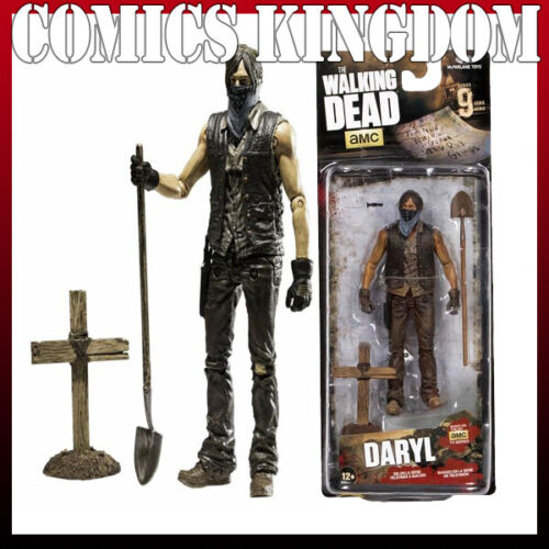 NEW The Walking Dead Series 9: Daryl TV Series McFarlane Toys Action Figure