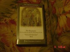 No Excuses: Existentialism and the Meaning of Life Part 2 (CD, 2000) 12 Lectures