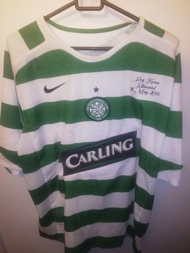 Fodboldtrøje, Roy keane celtic fc trøje testimonial, Nike