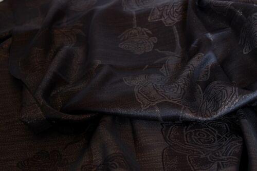 Silk Floral Print Glitter Scarf Wrap Shawl Stole Hijab Head Scarves