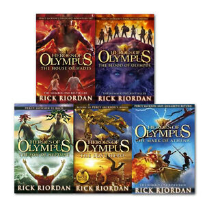 is rick riordan writing another book in the heroes of olympus series