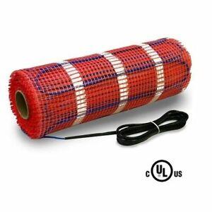 70 sqft HeatTech 240V Electric Tile Radiant Floor Heating Mat ...