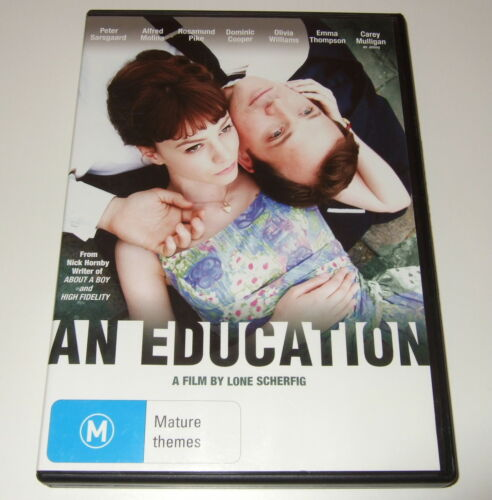 1 of 1 - DVD - AN EDUCATION - A film by Lone Scherfig - Nick Hornby