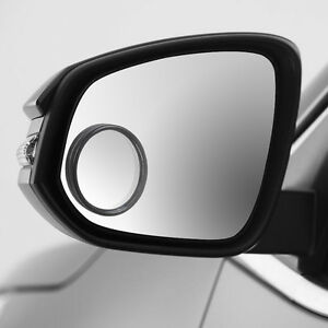 2x-Autoadhesivo-Redondo-Convexo-Punto-Ciego-Marcha-Atras-Espejo-para-Remolque