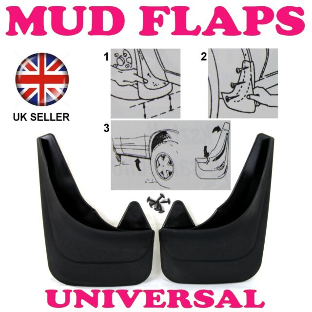 Rubber Moulded Universal Fit Car MUDFLAPS Mud Flaps Fits Citroen C4 Picasso